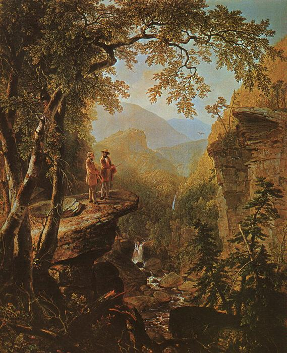 Asher Brown Durand Kindred Spirits France oil painting art