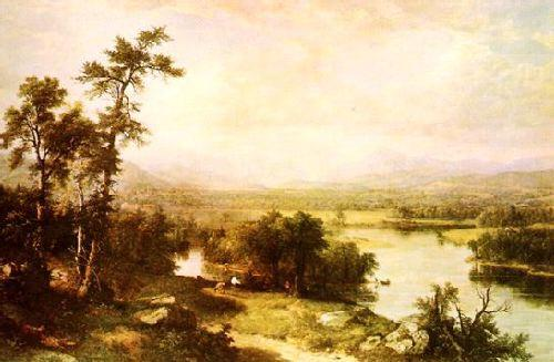 Asher Brown Durand White Mountain Scenery France oil painting art