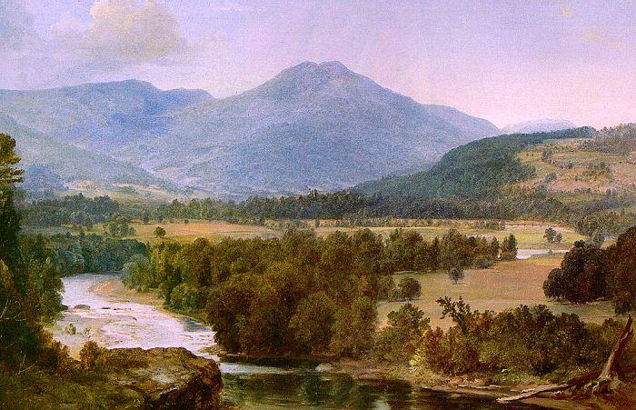 Asher Brown Durand Genesee Valley Landscape France oil painting art