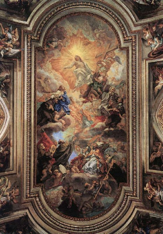 BACCHIACCA Apotheosis of the Franciscan Order  ff France oil painting art