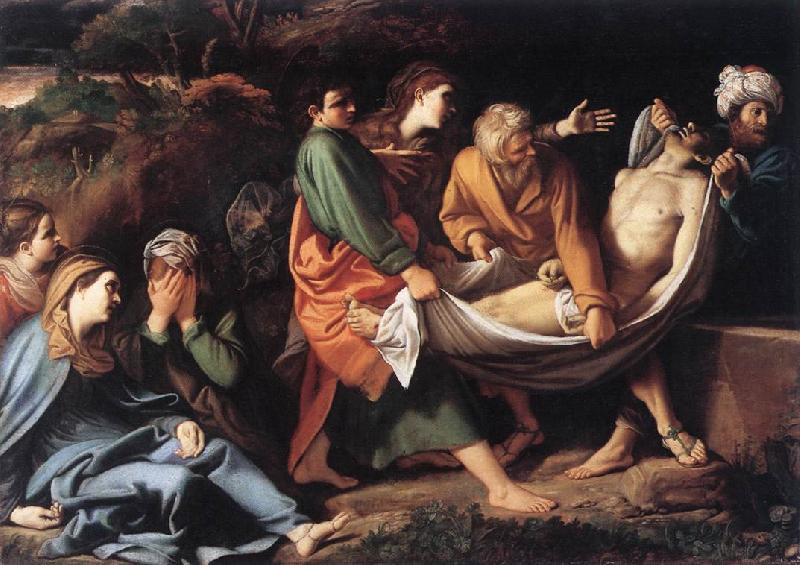 BADALOCCHIO, Sisto The Entombment of Christ hhh France oil painting art