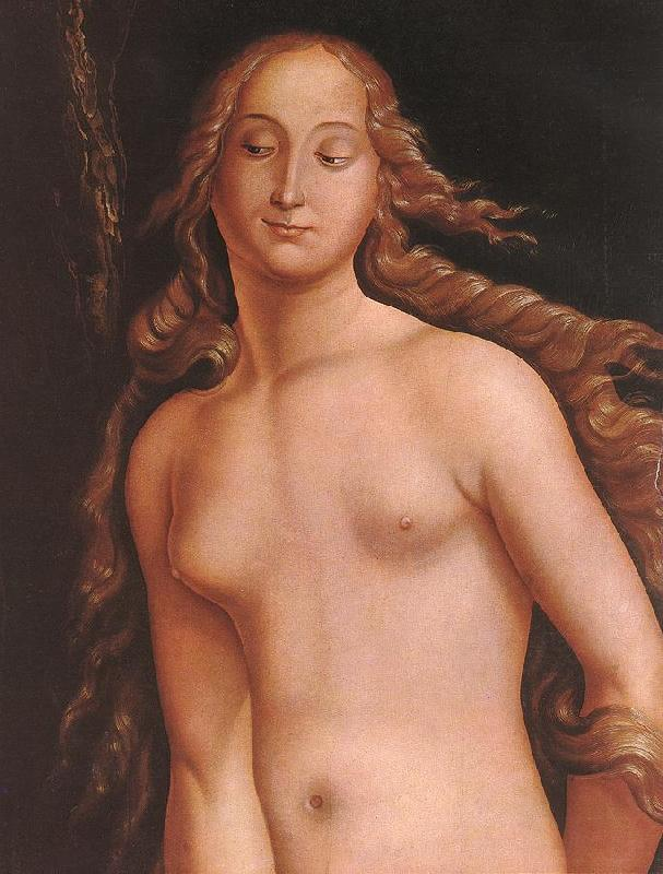 BALDUNG GRIEN, Hans Eve (detail)  l97 France oil painting art