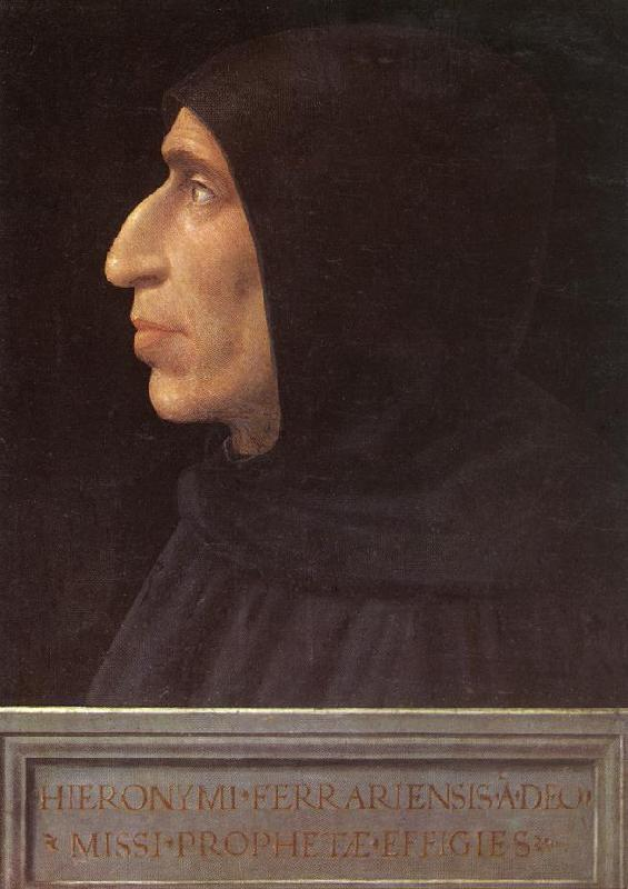 BARTOLOMEO, Fra Portrait of Girolamo Savonarola France oil painting art