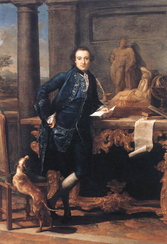 BATONI, Pompeo Portrait of Charles Crowle oil painting image