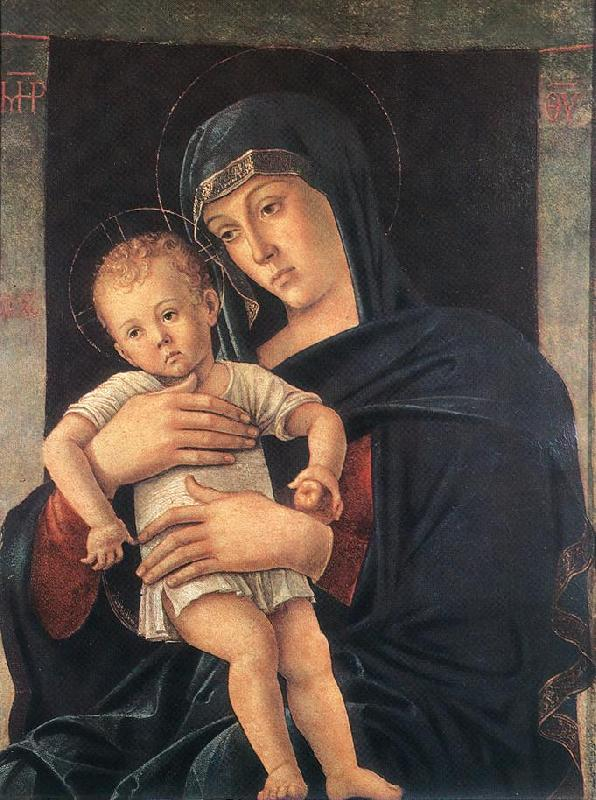 BELLINI, Giovanni Madonna with the Child (Greek Madonna) France oil painting art