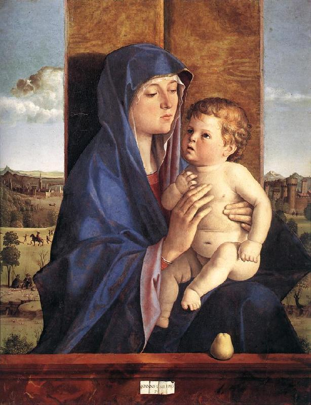 BELLINI, Giovanni Madonna and Child  257 France oil painting art