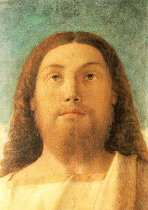 BELLINI, Giovanni Head of the Redeemer beg France oil painting art