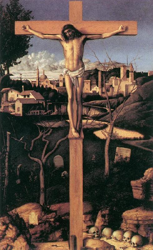 BELLINI, Giovanni Crucifixion yxn France oil painting art