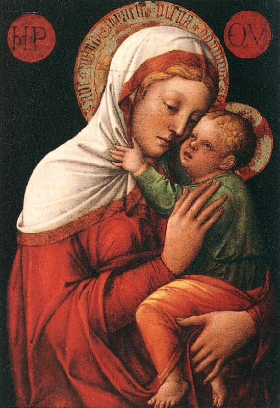 BELLINI, Jacopo Madonna with Child fh France oil painting art