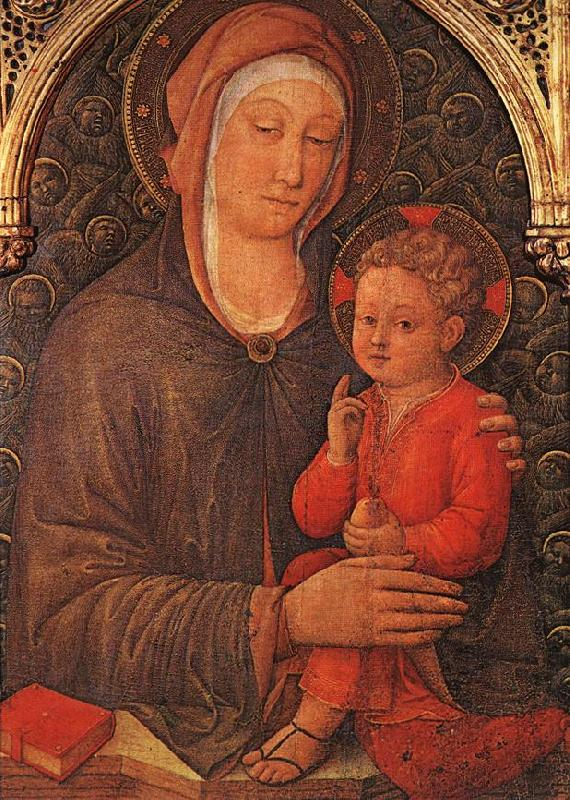 BELLINI, Jacopo Madonna and Child Blessing France oil painting art
