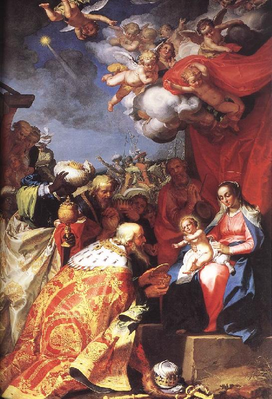 BLOEMAERT, Abraham Adoration of the Magi d France oil painting art