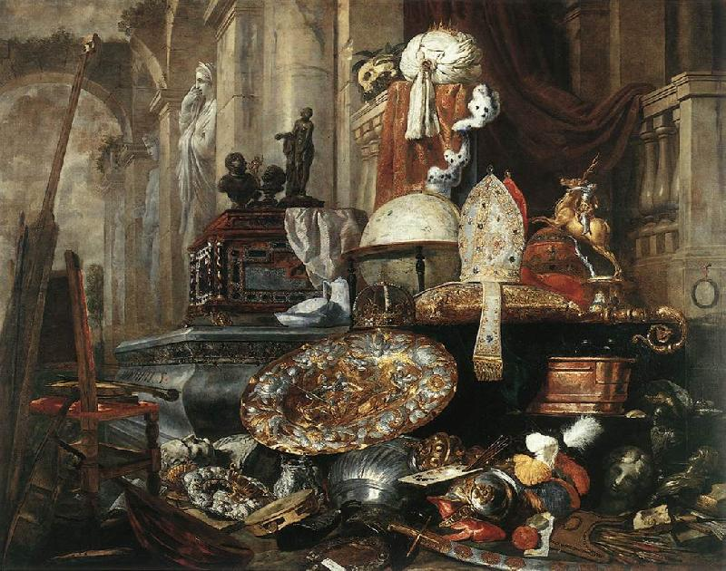 BOEL, Pieter Large Vanitas Still-Life  gdh France oil painting art