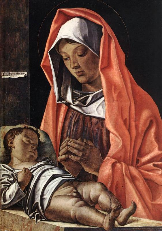 BONSIGNORI, Francesco Virgin with Child fh France oil painting art
