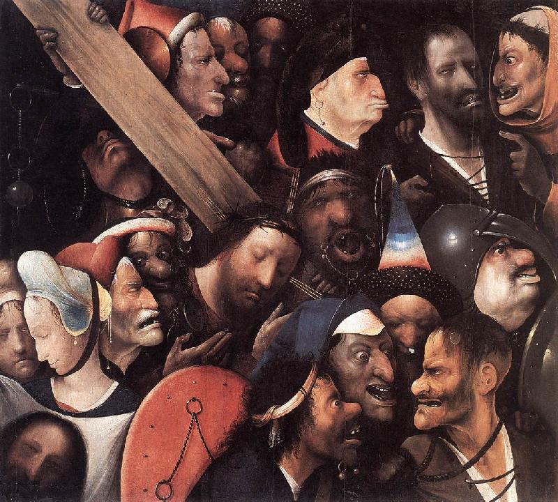 BOSCH, Hieronymus Christ Carrying the Cross gfh France oil painting art