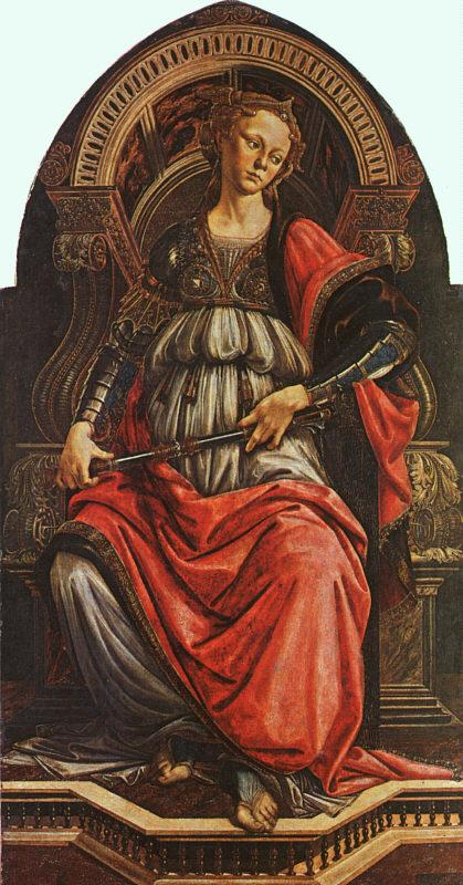 BOTTICELLI, Sandro Fortitude gf France oil painting art