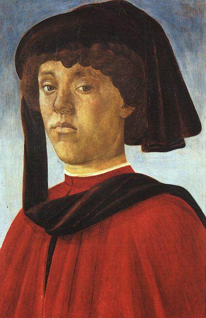 BOTTICELLI, Sandro Portrait of a Young Man fddg France oil painting art