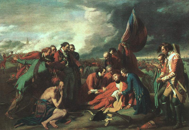 Benjamin West The Death of Wolfe France oil painting art