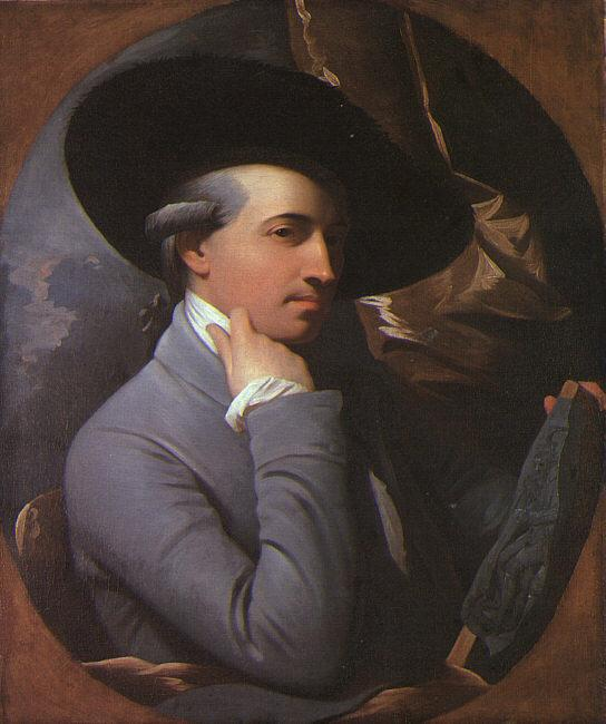 Benjamin West Self Portrait dgdgdfg France oil painting art