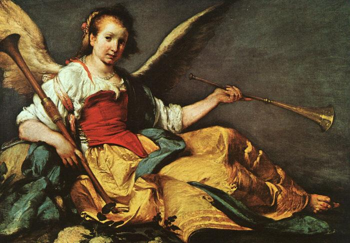 Bernardo Strozzi An Allegory of Fame France oil painting art