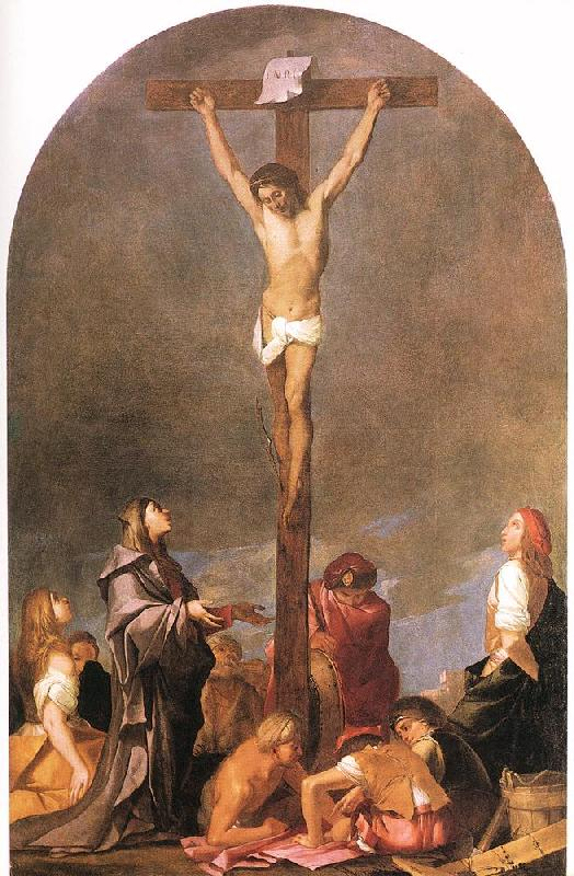 CARPIONI, Giulio Crucifixion fdg oil painting image