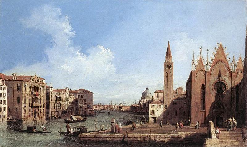 Canaletto Grand Canal: from Santa Maria della Carit to the Bacino di San Marco d oil painting image