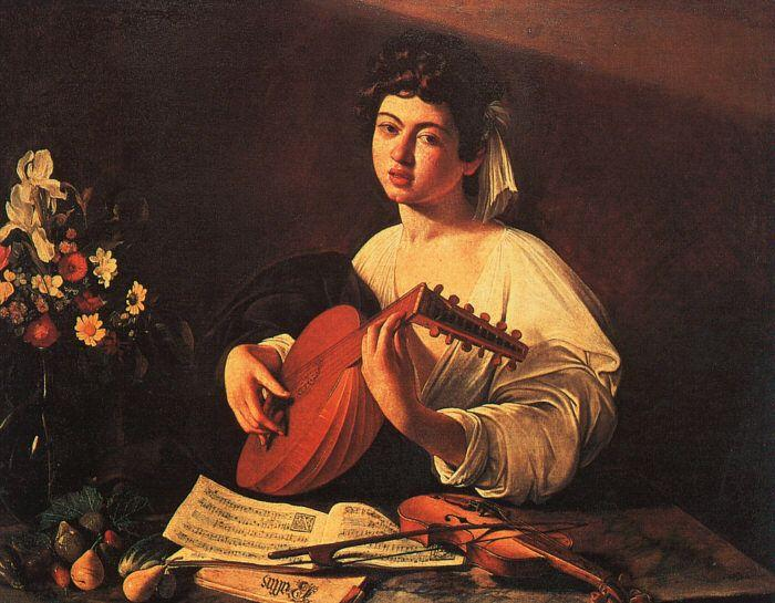 Caravaggio Lute Player5 oil painting image