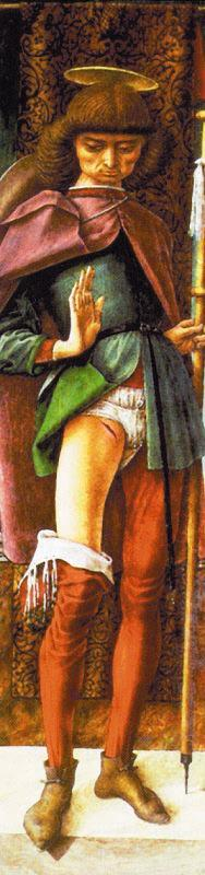 Carlo Crivelli St.Roch oil painting image