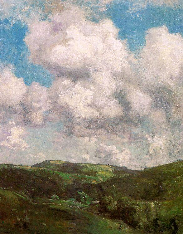 Charles Harold Davis Clouds and Shadow France oil painting art