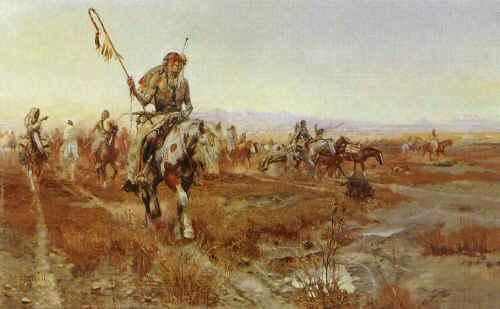 Charles M Russell The Medicine Man France oil painting art