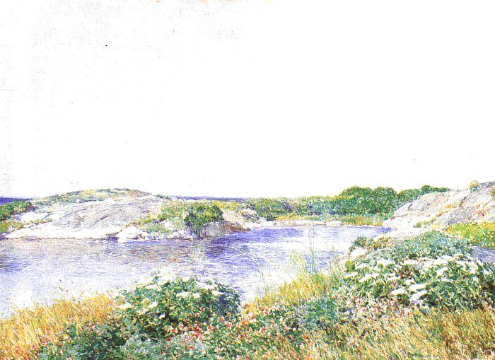 Childe Hassam The Little Pond at Appledore France oil painting art