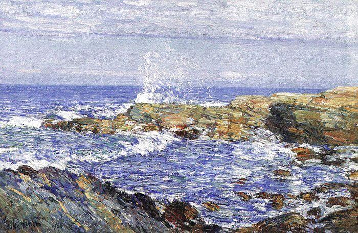 Childe Hassam Isles of Shoals France oil painting art