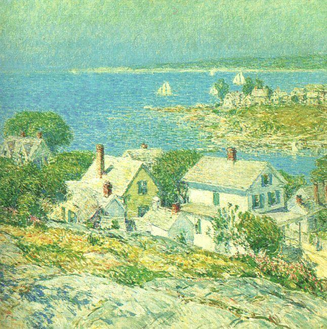 Childe Hassam New England Headlands France oil painting art