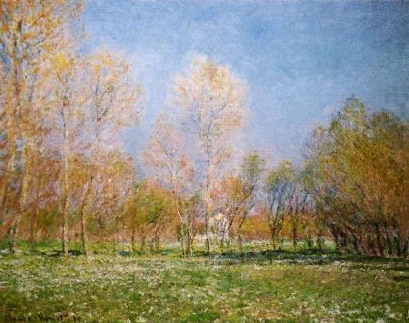 Claude Monet Springtime at Giverny oil painting image