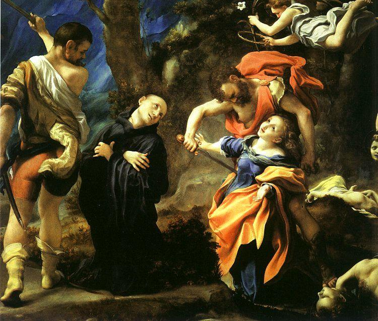 Correggio Martyrdom of Four Saints oil painting image