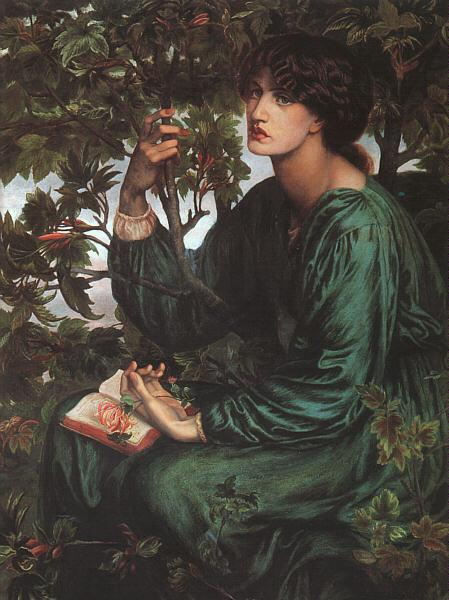 Dante Gabriel Rossetti The Day Dream France oil painting art