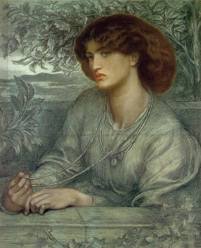 Dante Gabriel Rossetti Aurea Catena France oil painting art
