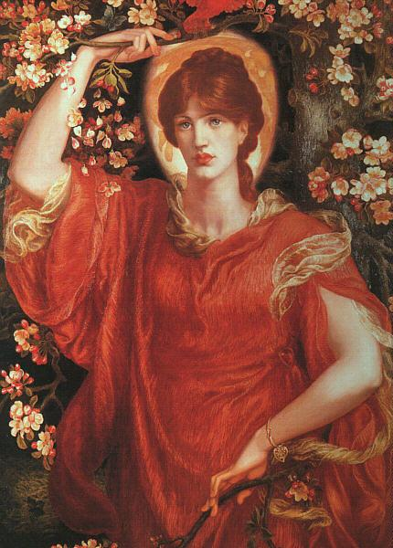 Dante Gabriel Rossetti A Vision of Fiammetta France oil painting art