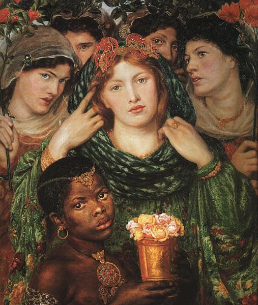Dante Gabriel Rossetti The Beloved France oil painting art