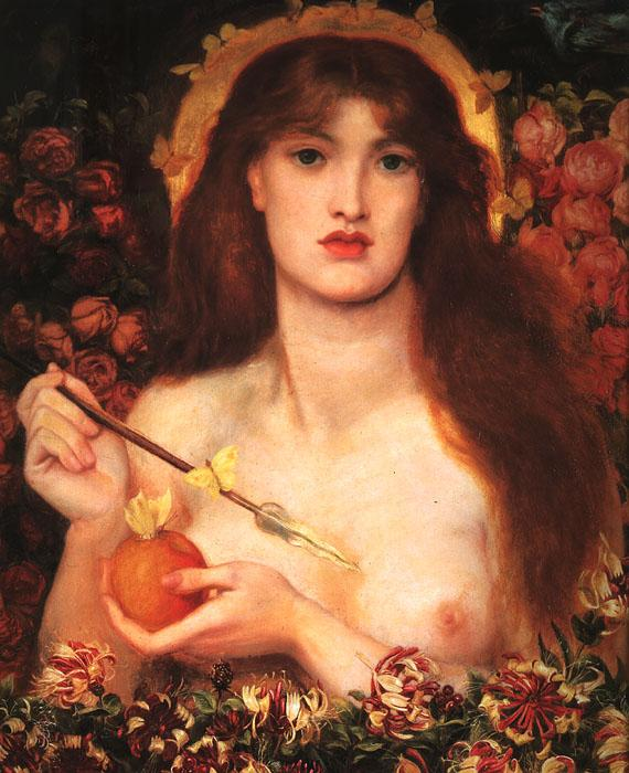 Dante Gabriel Rossetti Venus Verticordia France oil painting art