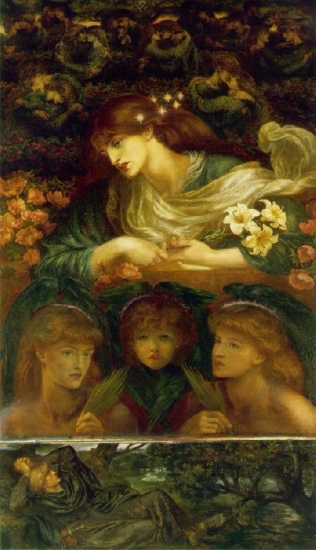 Dante Gabriel Rossetti The Blessed Damozel France oil painting art
