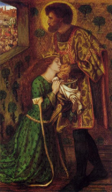 Dante Gabriel Rossetti St. George and the Princess Sabra France oil painting art
