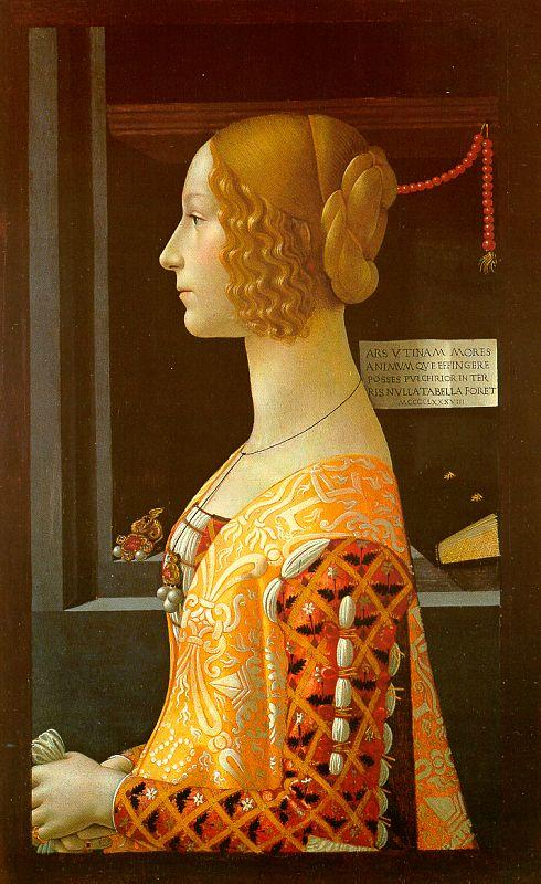 Domenico Ghirlandaio Portrait of Giovanni Tornabuoni oil painting image