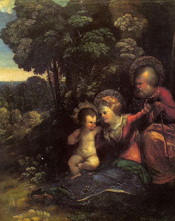 Dosso Dossi The Rest on the Flight into Egypt_4 oil painting image