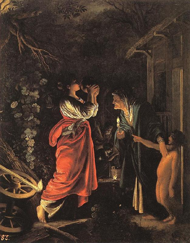 ELSHEIMER, Adam Ceres and Stellio fd oil painting image