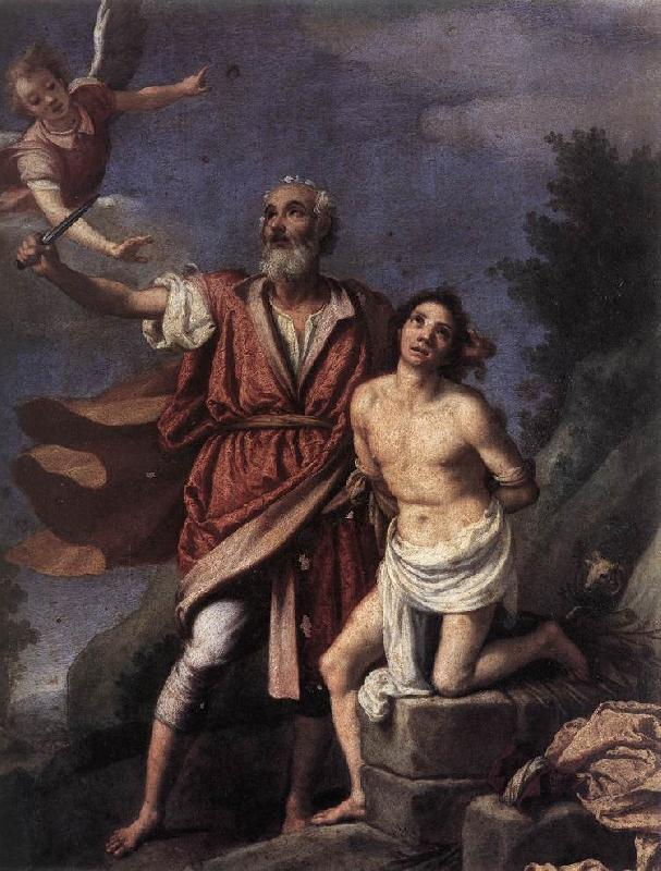 EMPOLI Sacrifice of Isaac sd oil painting image