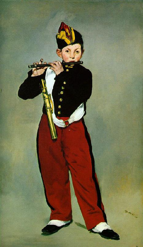Edouard Manet The Fifer oil painting image