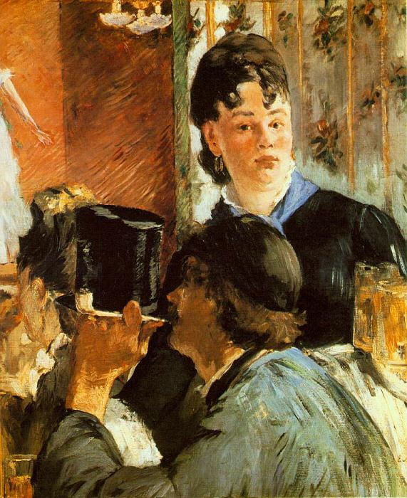 Edouard Manet The Waitress oil painting image
