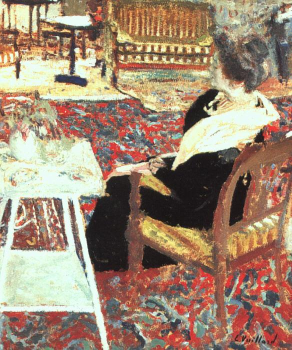 Edouard Vuillard Madame Arthur Fontaine oil painting picture