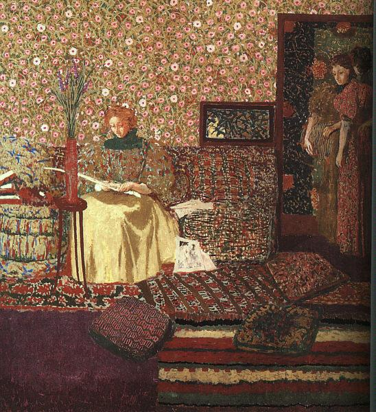 Edouard Vuillard The Reader oil painting picture