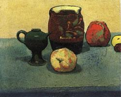 Emile Bernard Earthenware Pot and Apples oil painting image